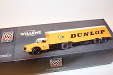 1/43 Norev Camions Willeme Ld610 Sattelzug Dunlop