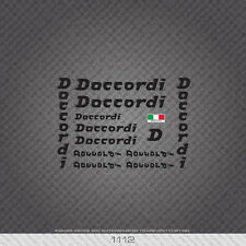 01112 Daccordi Bicycle Stickers - Decals - Transfers - Black