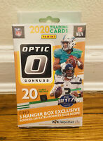 2020 DONRUSS OPTIC NFL FOOTBALL HANGER BOX BURROW TUA HERBERT RC BLUE SCOPE 20