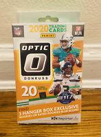 2020 PANINI DONRUSS OPTIC NFL FOOTBALL HANGER BOX HERBERT RC BLUE SCOPE PRIZM 20