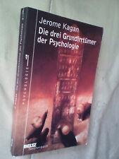 Jerome Kagan: Die drei Grundirrtümer der Psychologie