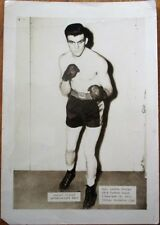 Boxing 1940s Photograph: Jackie Keough, Welterweight Star, Cleveland, Ohio OH