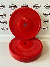5 lb Bumper plate set, (2) plates
