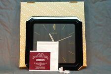 Vintage Seiko SQ Wall Clock, Seiko Quartz Clock, Seiko QSH-206-K Complete