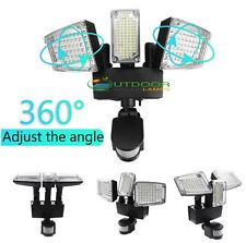 178 LED Triple Turnable Heads outdoor Solar Powered garden lights/pathway lights