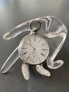 Jugendstil Taschenuhr aus 900er Silber Frankreich