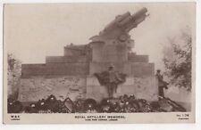 London, Royal Artillery Memorial Hyde Park Corner RP Postcard, B580