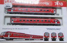 """Fleischmann N   7418 Dieseltriebzug BR VT 610   DB  Ep.V  """"Pendolino"""""""
