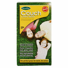 250g COUCH Lawn Turf Grass Seed Blend Vigorous Hard Wearing Drought Lush Carpet