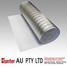 3mm Silver underlay for laminate Floor, Bamboo Floor,Floating floors-insulation