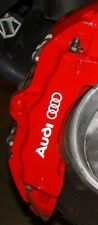Audi A3 A4 A5 A6 S3 S4 S5 Brake Caliper HIGH TEMP. Vinyl Decal Sticker 4X