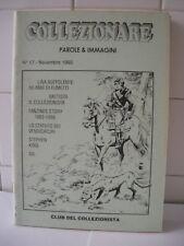 Collezionare n.17 Pubblicazione amatoriale Novembre 1990.
