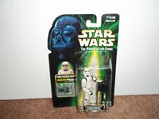 1999 HASBRO--STAR WARS THE POWER OF THE FORCE--STORMTROOPER FIGURE (NEW)