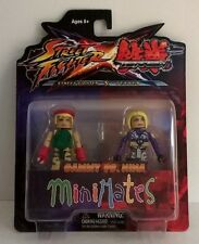 Minimates Street fighter X Tekken Cammy vs. Nina