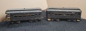 Vintage Early Lionel Prewar Trains New York Central Lines Pullman Standard Sz.
