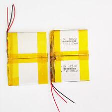 7.4V 1200mAh Lipo Batería de polímero para Laptop Tablet Pc Gps Banco de alimentación Banco de Alimentación