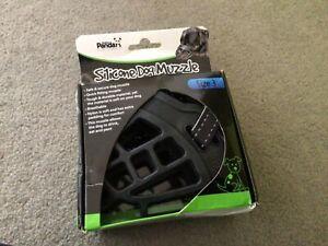 Silicone Dog Muzzle size 3, basket type, BNIB, black by Golden Panda RRP £9.95