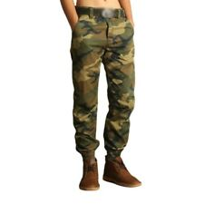 Men's Camouflage Cargo Harem Pants Outdoor Trousers American style Slacks New L