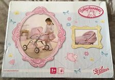 BNIB Baby Annabell Pram With Detachable Carry Cot And Changing Bag