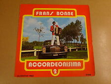 ACCORDEON LP WITH MERCEDES CAR COVER SILVERSTAR / FRANS BONNE - ACCORDEONISIMA 2