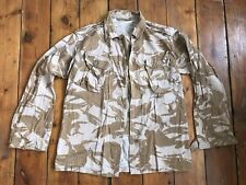 Mens British army camouflage jacket size 190/104 L military camo combat