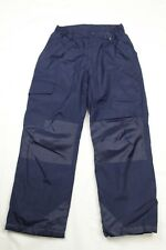 Boys And Girls Snow Ski Snowboard Insulated Pants Navy Blue Size 10/12