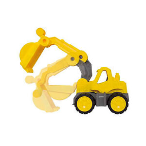 BIG Power Worker Mini Bagger gelb - Sandspielzeug Strandspielzeug