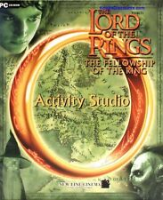 LORD OF THE RINGS ACTIVITY STUDIO Fantasy Puzzle Brain Game Fellowship CDrom NEW