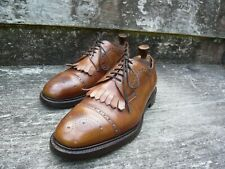 CHEANEY BROGUES MEN'S SHOES – BROWN / TAN – UK 8 – EXCELLENT CONDITION