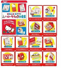 Re-ment Hello Kitty stationary set of 12 - complete set