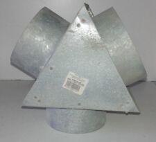 Y de distribution d'air chaud  entrée d150  2 sorties d125mm