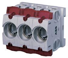 ABB ISS63/3  3pol Sicherungssockel für NEOZED-Sicherungseinsätze D01 / D02.
