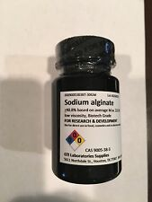 Sodium alginate, >90.8%, based on avg. M.w. 222.00, low viscosity, Biotech 30 gm