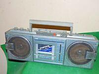 JVC 4 BAND FM AM RADIO CASSETTE BOOMBOX Vintage Retro 1980s RC-660 Grubby