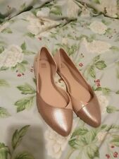 Pink And Gold Melissa Shoes