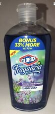 Clorox Fraganzia Hand Soap refill bottle Lavender W Eucalyptus-Get 1 Ea 10oz Blt
