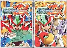 Rockman Mega Man manga Book Rock man    ZX set 1.2