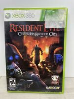 Resident Evil: Operation Raccoon City (Microsoft Xbox 360, 2012) Tested Working