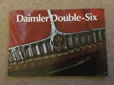 DAIMLER DOUBLE SIX Car Sales Brochure c 1972 in good condition