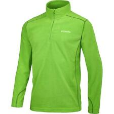 Columbia Men's Klamath Range II Half Zip Shirt UPF 50 - L/XL, Green - $50 NWT!