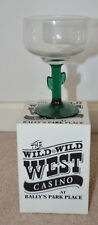 The Wild Wild West Casino At Bally's Park Place Margarita Cactus Barware Glass