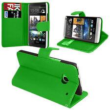 Etui Coque Housse Portefeuille Support Video Rabat VERT HTC One Mini M4