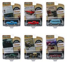 """VINTAGE AD CARS"" SERIES 2, 6 PC SET 1/64 DIECAST MODEL CARS BY GREENLIGHT 39030"