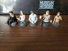 "Harry Potter Bust-Ups Gentle Giant 3.5"" Miniature Lot Harry Hermione Ron Neville"
