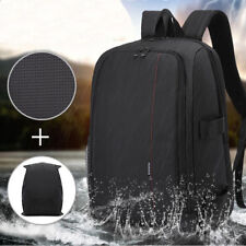 SLR DSLR Camera Bag Backpack Water/Shock-Resistant Case For Sony Canon Nikon KD
