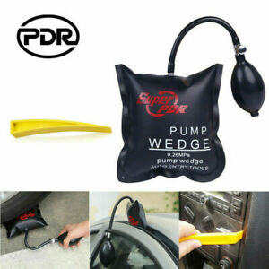 PDR Tools Auto Air Pump Wedge Inflatable Bag Shim Entry Open Pry Bar Repair Kit