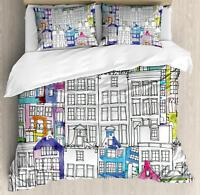 Amsterdam Duvet Cover Set Twin Queen King Sizes with Pillow Shams