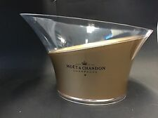 Moët Chandon Imperial Champagner Doppel Magnum Kühler Ice Bucket Acryl Deko NEU