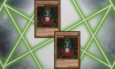 2X Tytannial, Princess of Camellias PGLD-EN088 Gold Rare YuGiOh Cards Mint