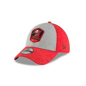 Tampa Bay Buccaneers New Era NFL Sideline Road 39THIRTY Flex Hat - Red/Gray